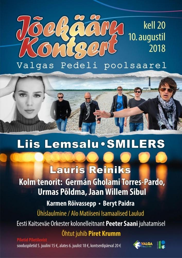 Hommikuprogramm loosib iga päev 2 pääset Jõekääru kontserdile!